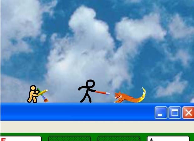 Imagem do terceiro episódio da série Animator VS. Animation.