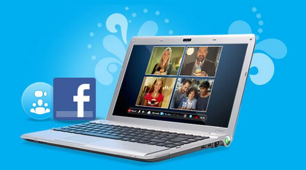 Skype e Facebook juntinhos na nova versão do aplicativo de videoconferência