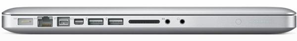 Notebook da Apple com Mini DisplayPort