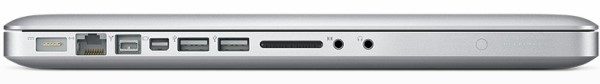 Notebook da Apple com Mini DisplayPort