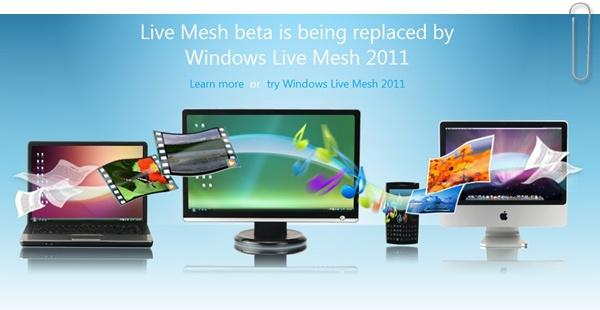 Windows Live Mesh 2011 vem aí.