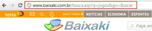 URL de busca