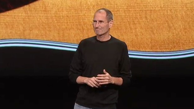 Jobs na conferência da Apple em 01/09/2010.