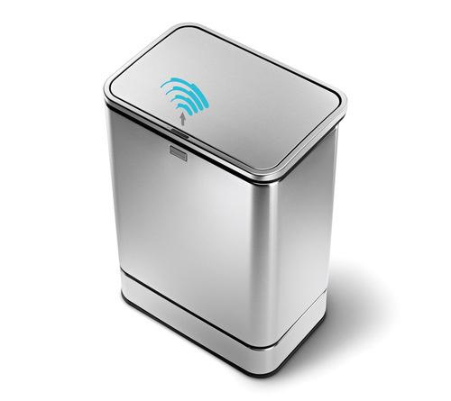 Lata de lixo com sensor de movimento inteligente