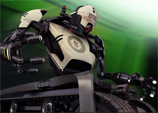 Tanque que vira robô