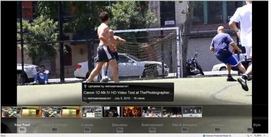 Aplicativo do YouTube receberá um tratamento especial