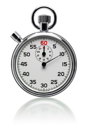 Qual é o valor de um segundo?