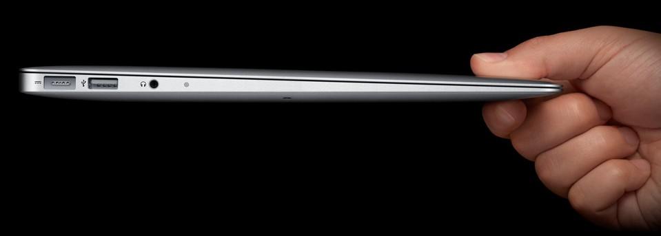 Novo MacBook Air: fino como você nunca viu.