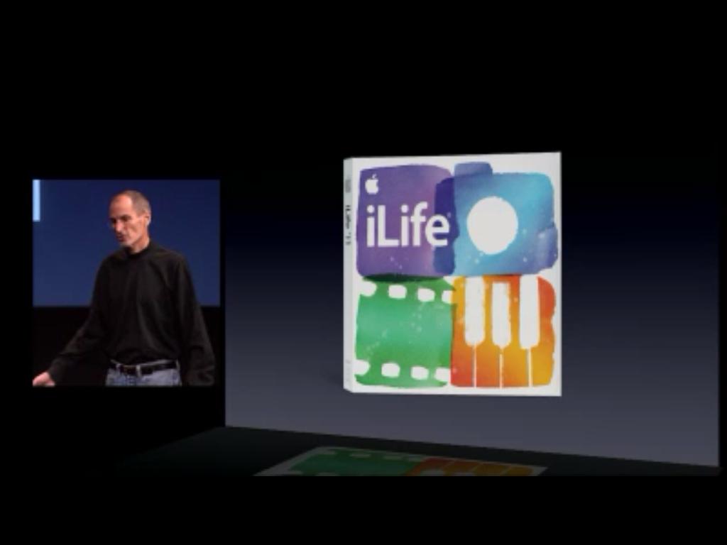 iLife 11: muito mais para a sua vida.