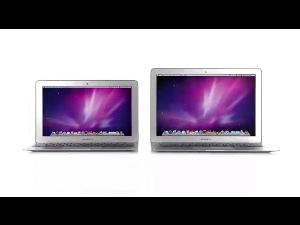 Os novos modelos de MacBook Air são ainda mais finos. E suas bateriais duram mais.