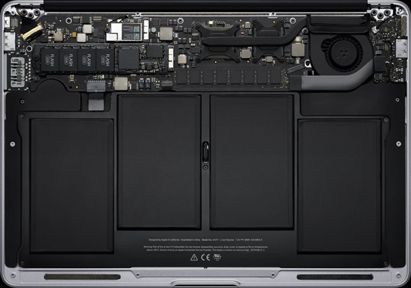 Por dentro o novo MacBook Air