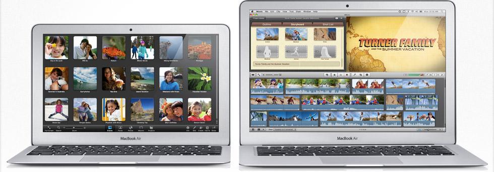 Novos MacBook Air