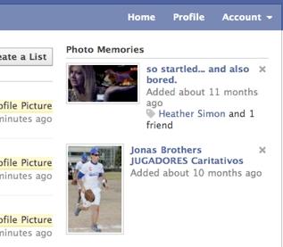 Imagens do Photo Memories geraram queixas de usuários do Facebook.