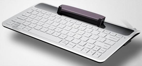 Teclado e dock para o Samsung Galaxy Tab