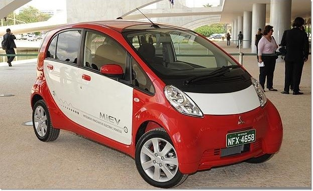 Novo carro elétrico.