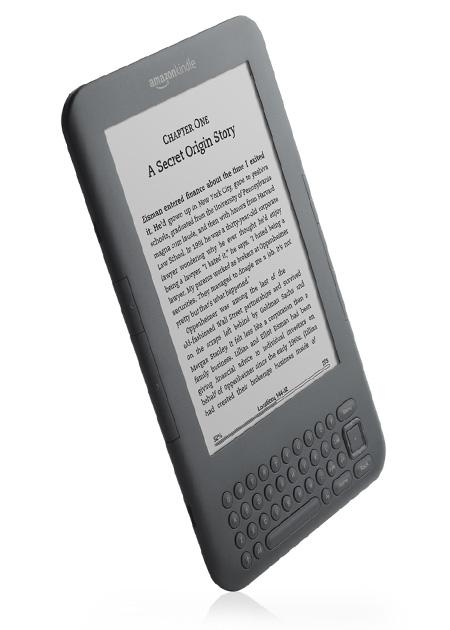 Kindle com novos recursos. Imagem: Divulgação.