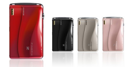 Z700EXR é o novo membro da família FinePix. Imagem: Divulgação/Fujifilm.