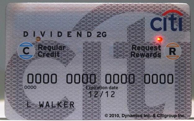 Novo cartão do CitiBank.