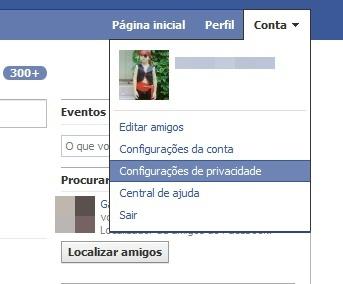 Facebook tem conceitos diferentes de privacidade.