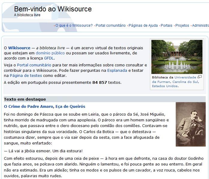 A Wikipédia dos e-books gratuitos.