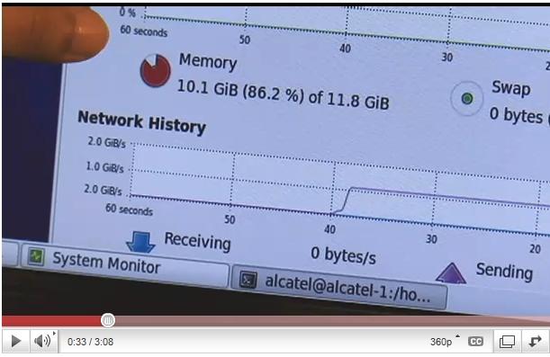 Verizon testa conexão de 10 GB.