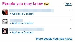 Sugestões de pessoas que você pode conhecer