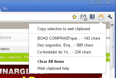 Web Clipboard