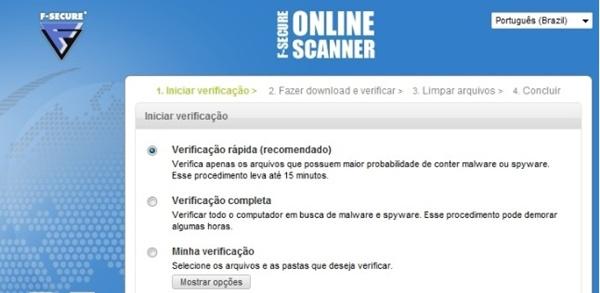 F-Secure Online Scan