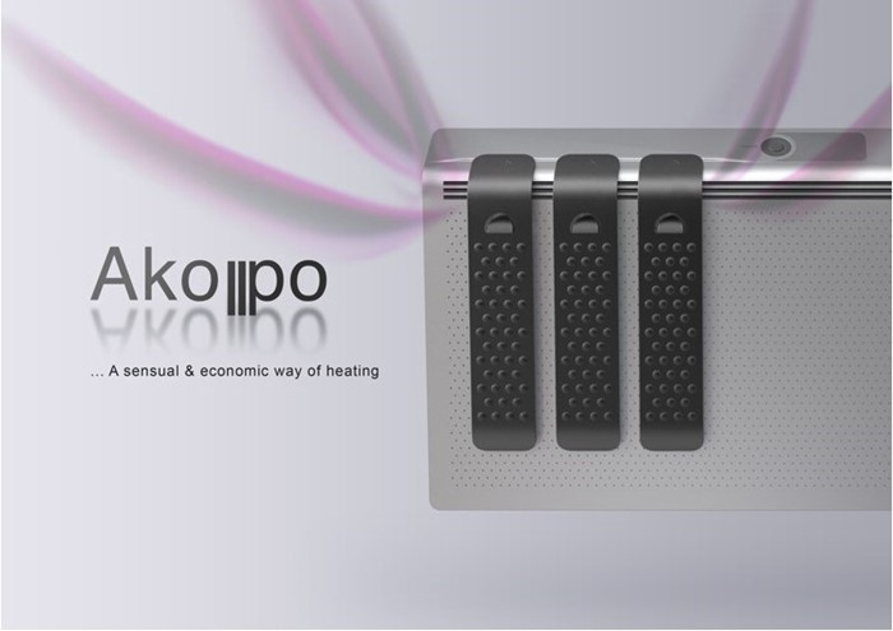 Akopo: aquecedor pessoal e para ambientes.