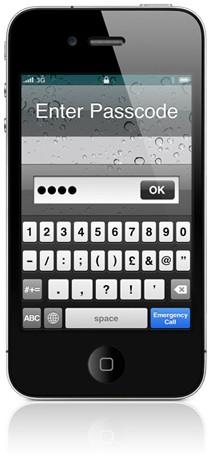 Proteja seu iPhone 5 para proteger suas senhas.