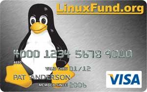Cartão da LinuxFund