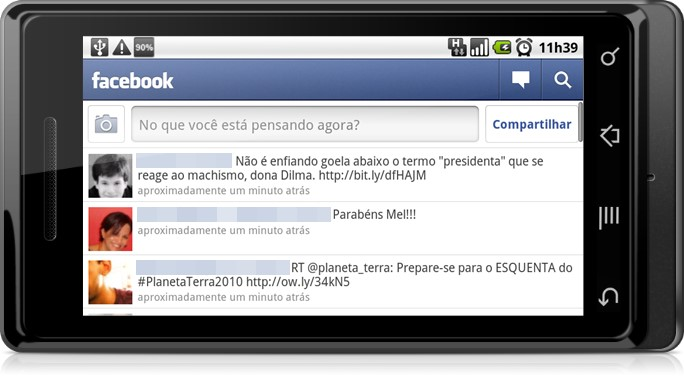 Facebook Mobile no Android
