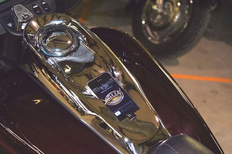Instale na sua Harley Davidson