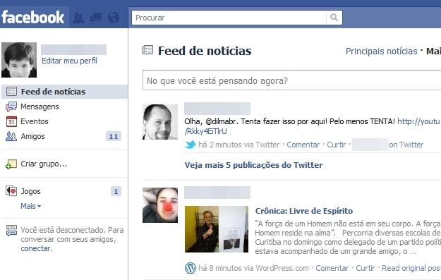 Layout do Facebook é o maior empecilho para brasileiros.