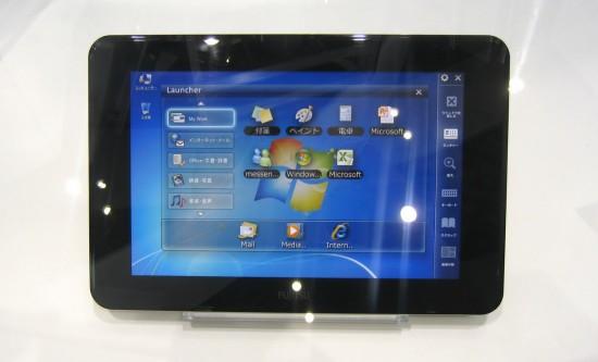 Tablet da Fujitsu apresentado na CEATEC