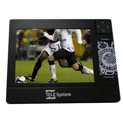Aparelho recebe TV digital e toca músicas e vídeos