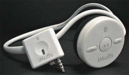 O iMuffs, principal produto da Wi-Gear