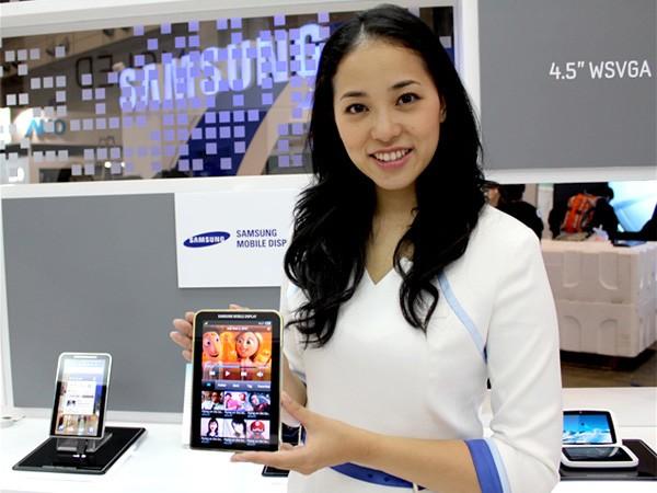 Estande da Samsung exibiu protótipos e produtos prontos para o mercado