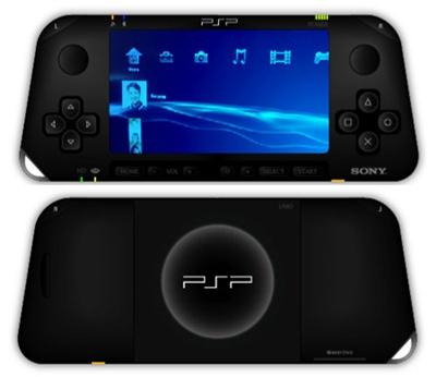 Este apenas um dos conceitos do futuro PSP 2
