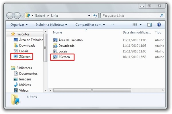 Como adicionar programas ao menu Favoritos do Windows Explorer