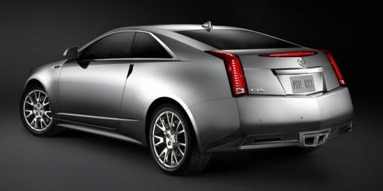 Cadillac Coupe CTS - imagem de divlgação.