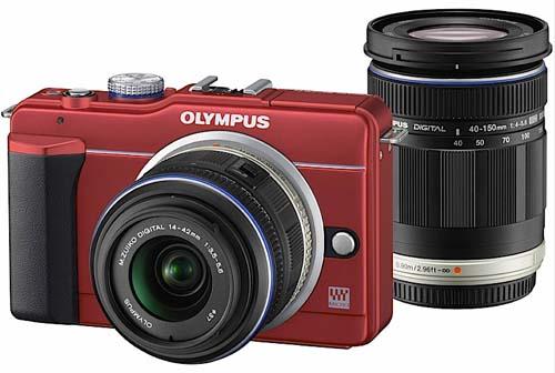 E-PL1s é a câmera com lentes intercambiáveis mais leve do mundo