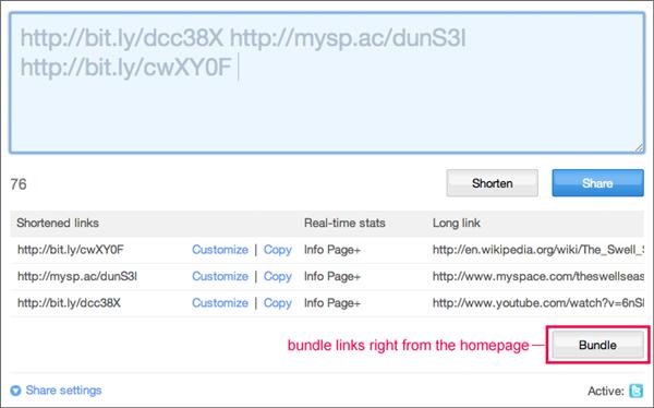 Serviço permite agregar URLs em um único link