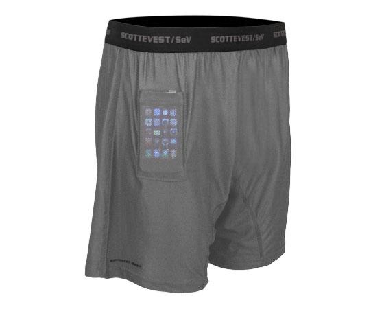 Cuecas com bolso para iPhone