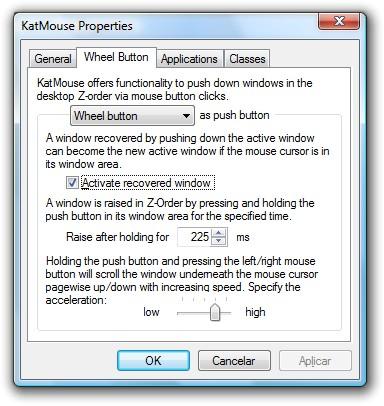 Configurando o KatMouse