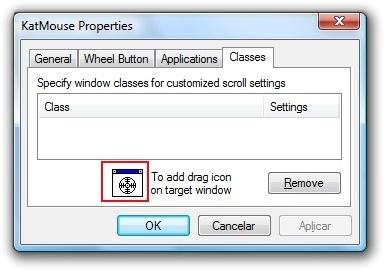 Adicionando janela de programa