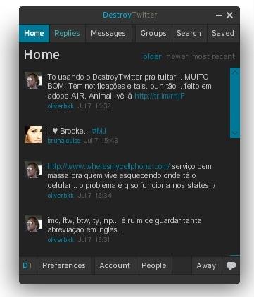 O DestroyTwitter