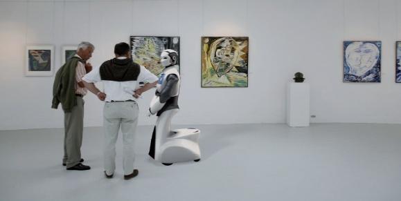 o REEM-H2 pode ser usado em museus e outros espaços como guia robótico de passeios