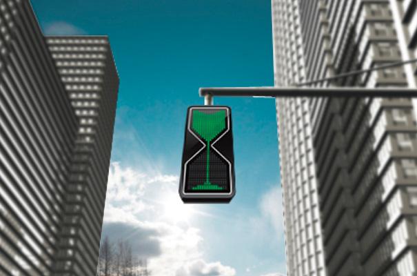 Semáforo-ampulheta pode diminuir acidentes de trânsito