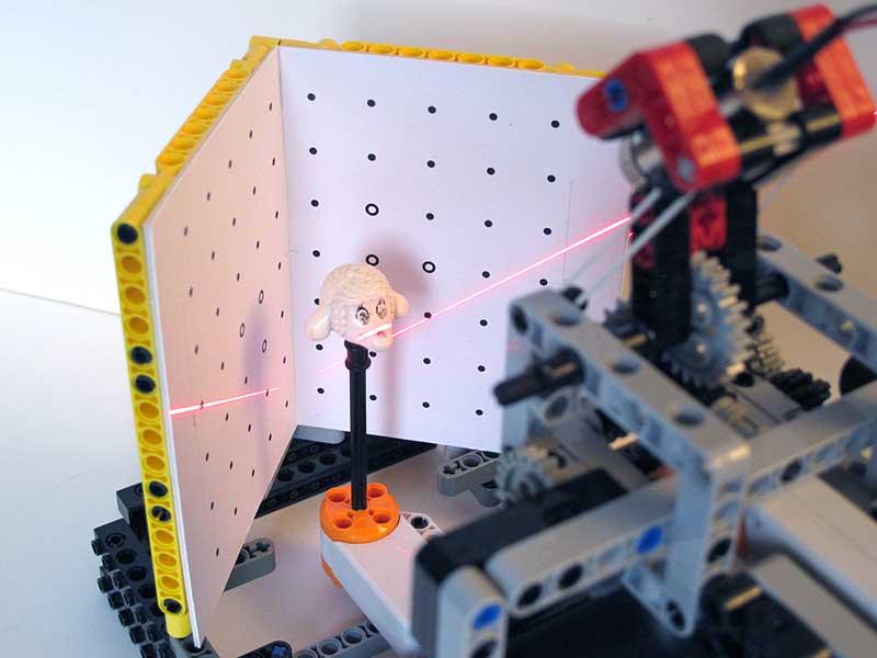 Criando peças de Lego
